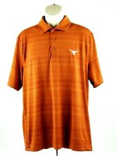 Texas Longhorns Cutter&Buck Shirt Polo CB DryTec Size Large