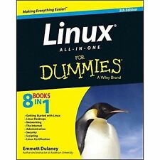 Linux All-In-One for Dummies (R), 5th Edition by Emmett Dulaney 9781118844359