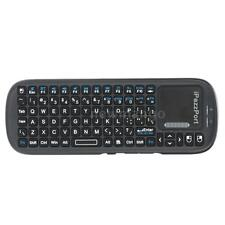 iPazzPort Bluetooth Wireless Mini Handheld QWERTY Keyboard with Touchpad V9X3