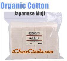 Organic 100% Japanese Cotton 30 pads - Wick Unbleached Muji Vape