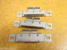 "Cole Hersee 2-Gang Steel Breaker Mounting Bracket 4-3/4"" Length New (Lot of 3)"