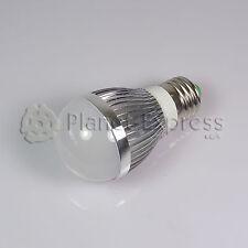 Bombilla 6W LED esferica E27 Blanco Frio 220V 750 lumen Bajo Consumo equiv.50W