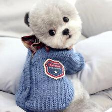 Fashion Classic Pet Cat Dog Sweater T Shirt Puppy Clothes Sweatshirt Size XS S M