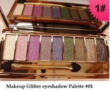 9 Diamond Urban Colours Glitter eyeshadow Palette Makeup-Great Naked-Look-01-UK