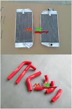 for 2002 2003 2004 Honda CRF450R CRF450 R aluminum radiator & silicone hose(RED)