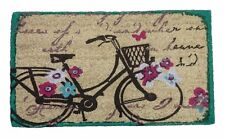 Felpudo Bicicleta Vintage Flores. Entrega 24/48 Horas.