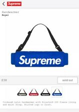 Supreme Handwarmer Royal Blue FW18 In Hand! DeadStock!