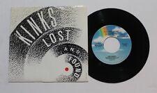 THE KINKS Lost & Found 45 MCA Rec MCA-53015 US 1986 VG++
