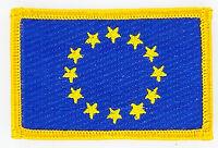Toppe Toppa PATCH EUROPA Bandiera UE termoadesivo