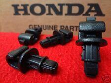 Honda Odyssey Sliding Door Sun Shade Hook Clip Kit Black 2005-10 Set of 4 OEM