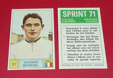 N°87 JACQUES BOTHEREL FRANCE PANINI SPRINT 71 CYCLISME 1971 WIELRIJDER CICLISMO