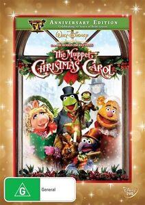 The Muppet Christmas Carol DVD -50th Anniversary ED (PAL, 2010) NEW - Free Post