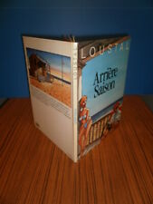 LOUSTAL ARRIÈRE SAISON EO 1985 + Superbe dédicace à pleine page Ed. ALBIN MICHEL