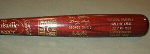 1998 Don Sutton & Larry Doby Baseball Hall of Fame HOF Induction Bat 333/1000