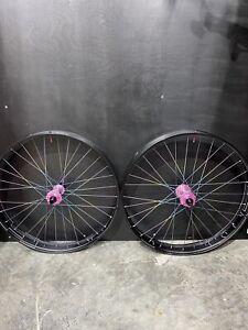 "HED Industry Nine Titanium Spoke FatBike Wheelset 15x150mm 12x177mm XD 26"" 6bolt"