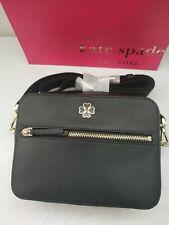 Kate Spade Medium Leather Camera Bag in Black. RRP £295.00