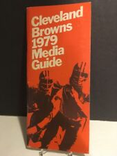 1979 Cleveland Browns NFL Media Guide