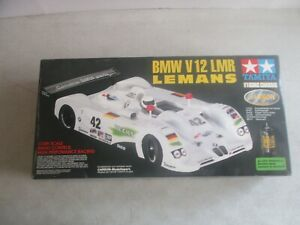 VTG TAMIYA BMW V12 LMR LEMANS 1/10 SCALE RC CAR IN BOX F103RS CHASSIS 52966