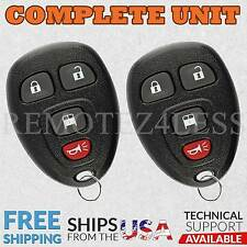 2 For 2008 2009 2010 2011 2012 Chevrolet Express Keyless Entry Remote Key Fob