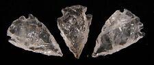 Quartz Crystal Single Terminated Point Arrowhead 30-35mm 1 Supplied