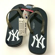 New York Yankees Logo Flip Flop Sandals Women's Size 5/6 Small