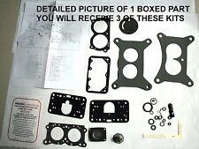1959-60 CARB KITS TRI POWER EDSEL HOLLEY MODEL 2300 ETH TOLERANT NEW