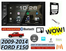 09-14 FORD F150 KENWOOD CD/DVD/USB BLUETOOTH CAR RADIO STEREO W/ OPT. SIRIUSXM