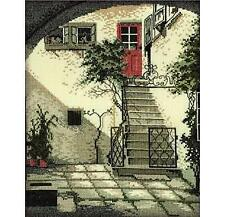 RTO Counted Cross Stitch Kit  - Mediterranean Courtyard