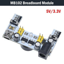 5V/3.3V Mini USB MB102 Breadboard Power Supply Module For Arduino Bread Board