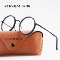 Retro Vintage Round Eyeglass Frames Full Rim Glasses Retro Eyewear Clear Lens 2