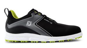 FootJoy SuperLites XP  Black Mens Spikeless Golf Shoes Various Sizes