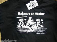 Womans Coastal Nomad T-shirt stand up Paddle board yoga Balance on Water