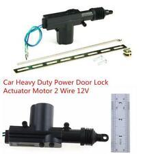 DC 12V Car Heavy Duty Central Locking Power Door Lock Actuator Motor 2 Wire Kit