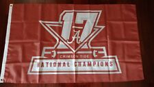 Alabama Crimson Tide 3x5 Champions Flag. US seller. Free shipping within the US