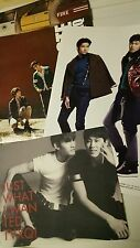 Korean Kpop Tohoshinki TVXQ promotion booklet photobook 20 pages and mouse pad