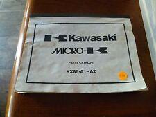 C16 KAWASAKI MICRO-K PARTS CATALOG KX85-A1-A2 KX85 A1 A2 DIRT OFF ROAD BIKE