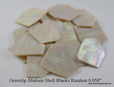 1 oz inlay material greenlip abalone shell blanks top premium quality 1.3mm