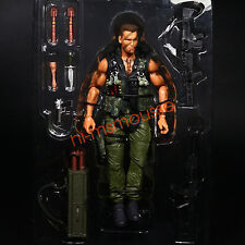 """NECA Commando Colonel John Matrix 7"""" Action Figure 30th ANNIVERSARY  Loose"""