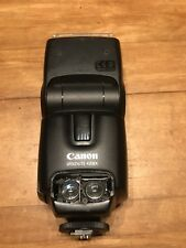 CANON SPEEDLITE 430EX SHOE MOUNT FLASH