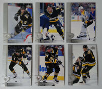 1996-97 Upper Deck UD Series 2 Pittsburgh Penguins Team Set of 6 Hockey Cards