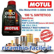 MOTUL 8100 X-CESS 5W40 1 LT OLIO MOTORE TOTALMENTE SINTETICO OFFERTA