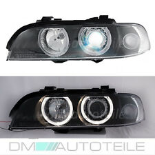 BMW E39 Facelift Xenon Angel Eyes Scheinwerfer Limousine Touring 00-03 D2S H7