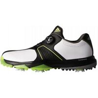 Adidas 2017 360 Traxion BOA Mens Golf Shoes White/Black/Solar Yellow - Pick Size