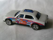 MATCHBOX MADE IN CHINA TAXI CAB WHITE