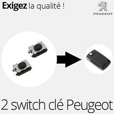 2 X switch pour clé pliante Peugeot 207 207 307 308 407 - SW04