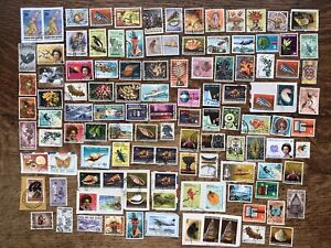 Collection Of Papua New Guinea Stamps Kiloware