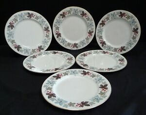 Royal Doulton Camelot Dinner Plates x 6
