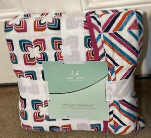 Aden+Anais Soft Comfy Dream Blanket 100% Cotton Muslim  4-Layer 47 X 47