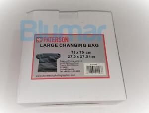 """Paterson Large Film Changing Bag PTP125 70 x 70cm, 27.5 x 27.5""""   FAST shipping"""