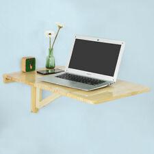 SoBuy® Folding Wall-mounted Drop-leaf Table Desk, 70x45cm, FWT04-N, Nature, UK
